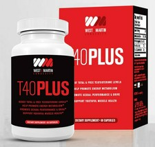 T40PLUS - Booster Dietary Supplement All Natural Formula - 60 caps - $58.28