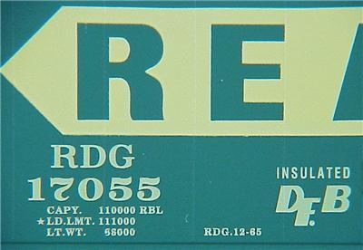 Micro Trains 32320 Reading 50' Boxcar 17055