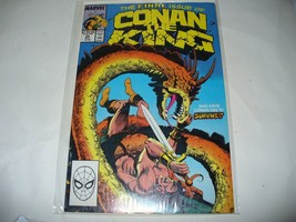 1989 CONAN THE KING #55 MARVEL COMIC BOOK BAG/BOARD VINTAGE FINAL ISSUE - $4.95