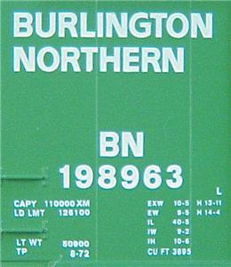 Micro Trains 23080 BN 40' Boxcar 198963