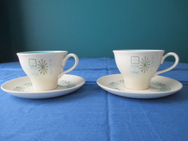 Taylor Smith & Taylor 2 Cups & Saucers - $1,499.00