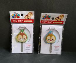 New DISNEY CHIP & DALE CHIP 'N DALE Soft PVC Key Cap/Holder/Cover 2 pcs set - $9.99