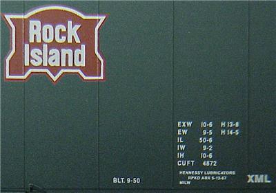 Micro Trains 31300 Rock Island 50' Boxcar 110012