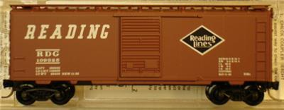 Micro Trains 20980 NP 40' Boxcar 27588