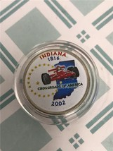 2002 D Indiana Enameled State Quarter *FREE SHIPPING* - $3.92