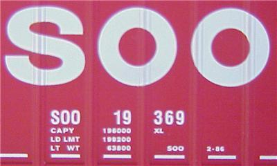 Micro Trains 27260 SOO 50' Boxcar 19369