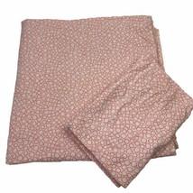 IKEA Full/Queen Tradaster Duvet Cover &  Pillowcases White Orange Circle... - $37.74