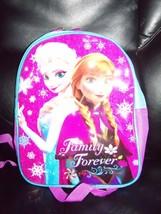 Disney Frozen Blue Backpack Book Bag Anna Elsa Toddler Preschool NEW - $16.00