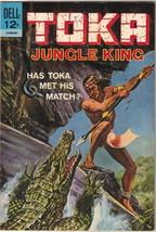 Toka Jungle King Comic Book #2, Dell Comics 1965 VERY FINE- - $16.39