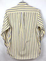 Tommy Hilfiger Mens Size S Shirt Button Front Long Sleeve Flag Logo Stripe A3-7 image 3
