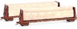Z Micro Trains 52700052 CN 60' Bulkhead Flatcar 622278 - $22.00