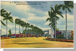 Miami, Florida/FL Postcard, Gulfstream Park Race Course - $6.00