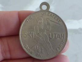 Vintage SKI UTAH Fob Token GREATEST SNOW ON EARTH Boost Olympics Powder Ski - $9.99
