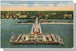 St Petersburg, Florida/FL Postcard, Million Dollar Pier - $6.00