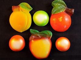Vintage Plaster Chalkware Wall Decor Miller Studio ? Set of 3 Fruits & A... - $23.75