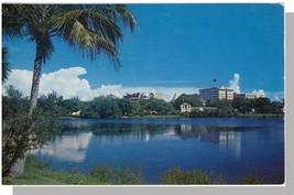 St Petersburg, Florida/FL Postcard, View Over Mirror Lake - $6.00