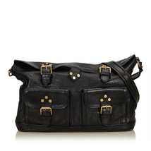 Pre-Loved Celine Black Others Leather Shoulder Bag France - $251.52