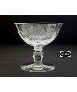 Heisey Rose Crystal Sherbet - $8.50