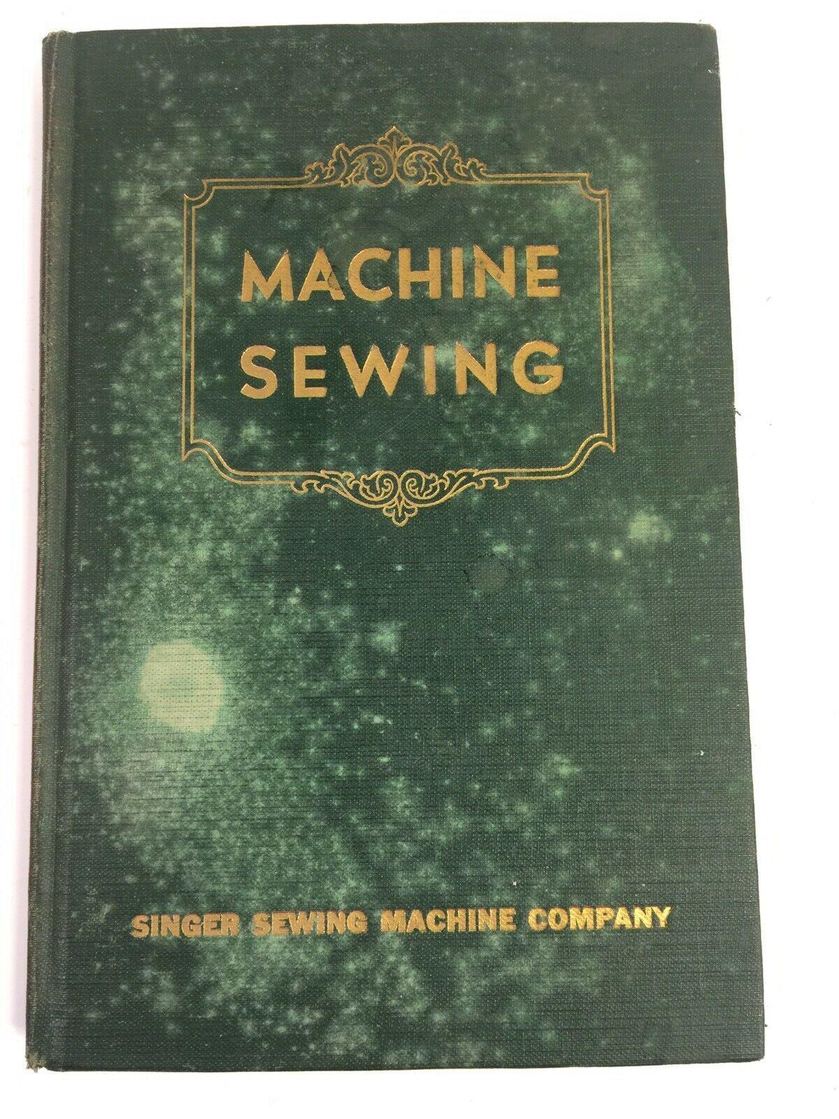 Singer Machine Sewing Vintage Teachers Home Economics School Book Featherweight - $247.49