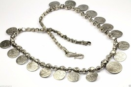 ANCIENT ORISSA SILVER INDIAN COIN WITH ARABIC INSCRIPTIONS NECKLACE NC 0001 - $299.99