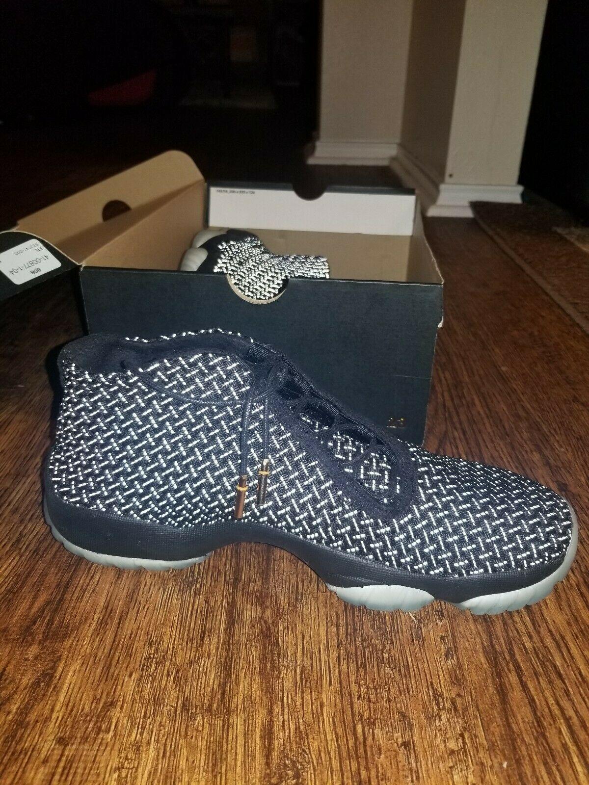 5ca1307832d930 Air Jordan Future Premium Glow 652141 Mens Size 9.5 Black Black retail  185