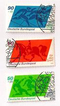 Old German Stamps 1980 - Sporthilfe - $5.50