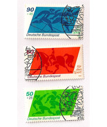 Old German Stamps 1980 - Sporthilfe - $5.50