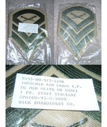 Two Staff Sergeant Insignia Patches, Packaged Unused        - $4.00
