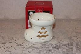 NEW Lenox Illuminations Stocking Tea Light Votive Boot - $10.00