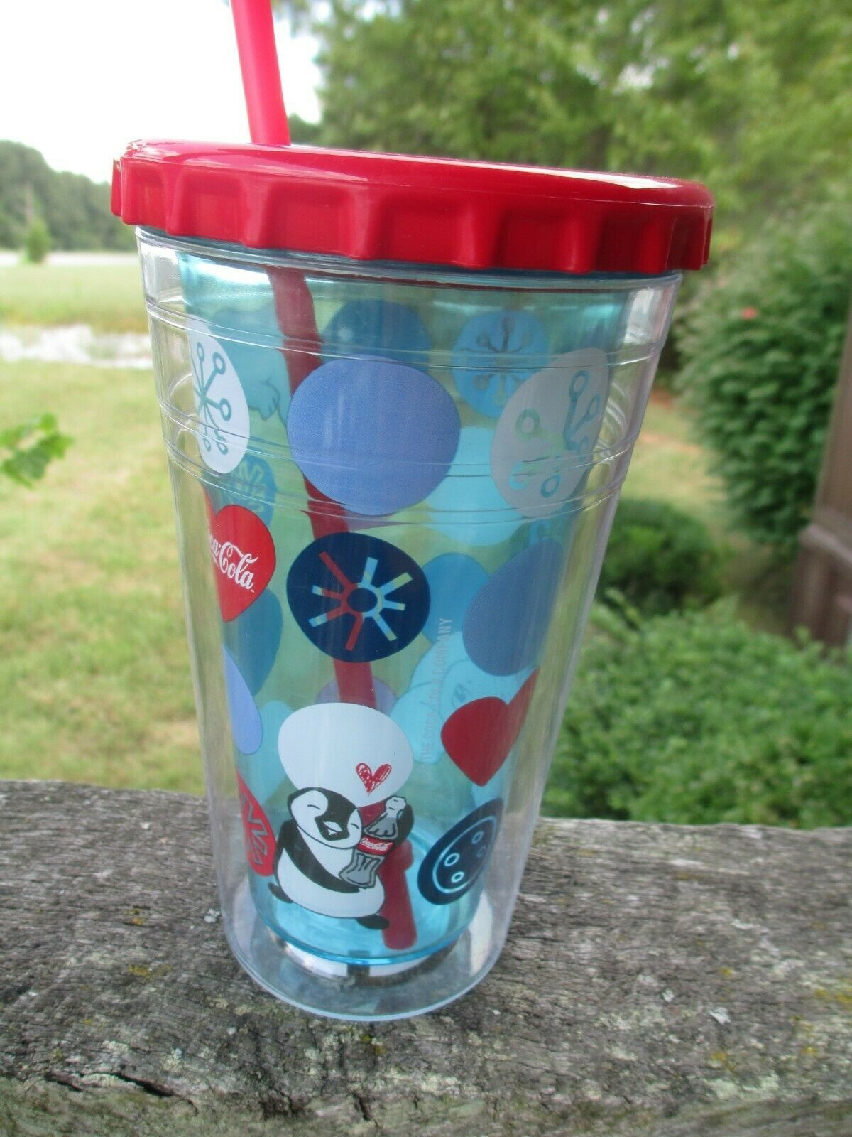 Primary image for Coca-Cola Igloo Cool Gear 16 OZ Winter Holiday Tumbler Polar bear Penguin