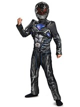 Disguise Ranger Movie Classic Muscle Costume, Black, Large 10-12 - $22.04