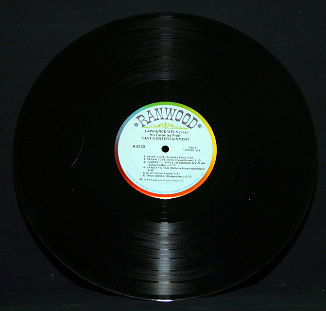 "Lawrence Welk  ""That's Entertainment""  LP"