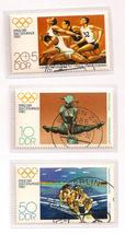 Old German Olympic Stamp set 1980 - $5.50