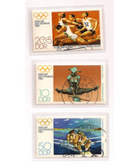 Old German Olympic Stamp set 1980 - $5.50