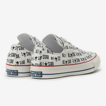 CONVERSE ALL STAR 100 MANYNAME OX White Chuck Taylor Japan Exclusive image 3