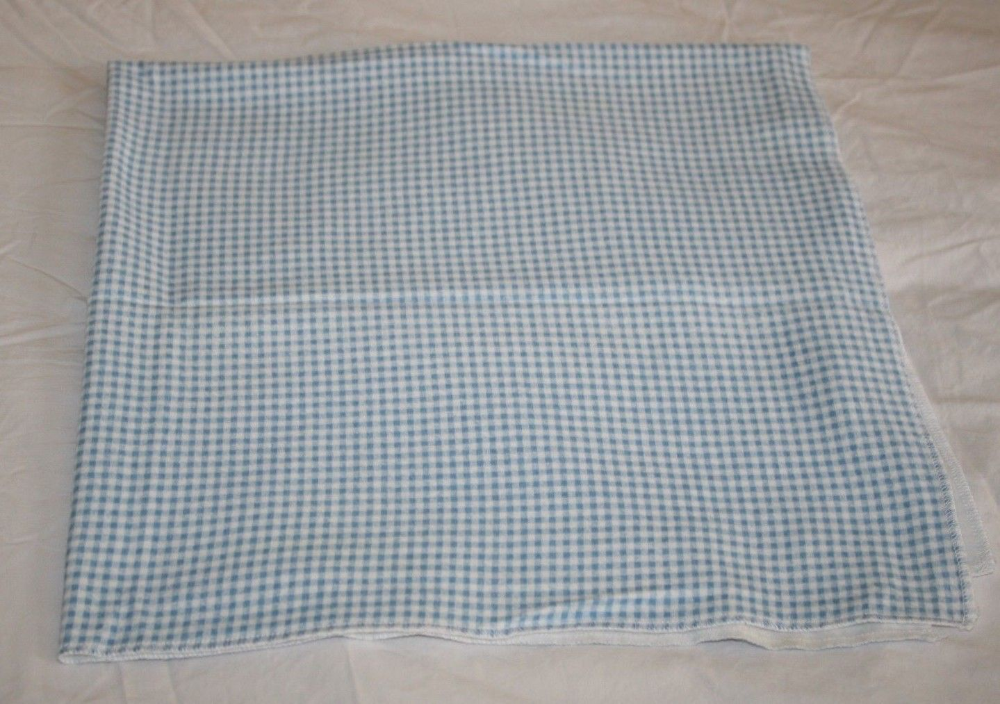 ecabc91637e Pottery Barn Kids Blue Gingham Receiving and 41 similar items
