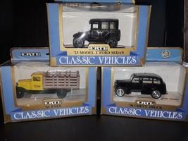 three ertl collectible die cast vehicles - $18.99