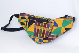 Kente African print  Waist Bag - $29.99
