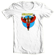 The Falcon T-shirt retro vintage comic superhero Marvel 100% cotton graphic tee image 1