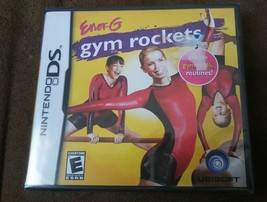 Ener-G Gym Rockets (Nintendo DS, 2008) Gymnastics Exercise Routines NIP - $10.39