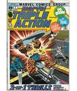 Marvel Triple Action Comic Book #1 Silver Surfer Marvel Comics 1972 VERY... - $24.08