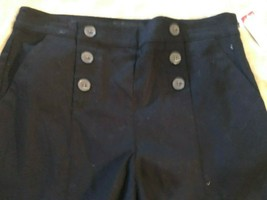 Attention Womens Short Shorts Black Small New with Tags Vintage K mart - $9.25