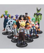 10 Pcs Dragon Ball Z Family PVC Figures Scultures Toys Model Collection ... - $15.00