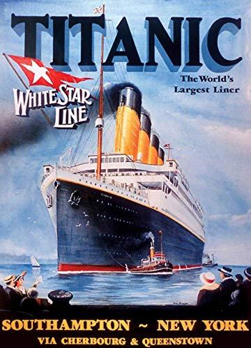 Primary image for MasterPieces Titanic White Star Line 1000-Piece Jigsaw Puzzle