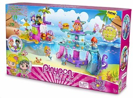 Pinypon - The Island Magic Of Piratas And Siren Includes 2 Figures Pin P... - $243.73