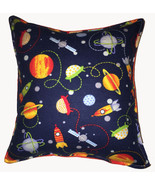 Space Pillow Planets Solar System Pillow Handmade in USA Saturn Planets - $9.99