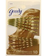 Goody WoMens Colour Collection Wavy Bobby Slides, Blonde, 10 Count - $6.23
