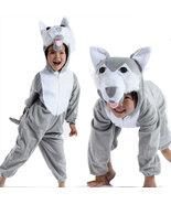 Halloween Child wolf Kids animal kigurumi onesie Costume - $26.45
