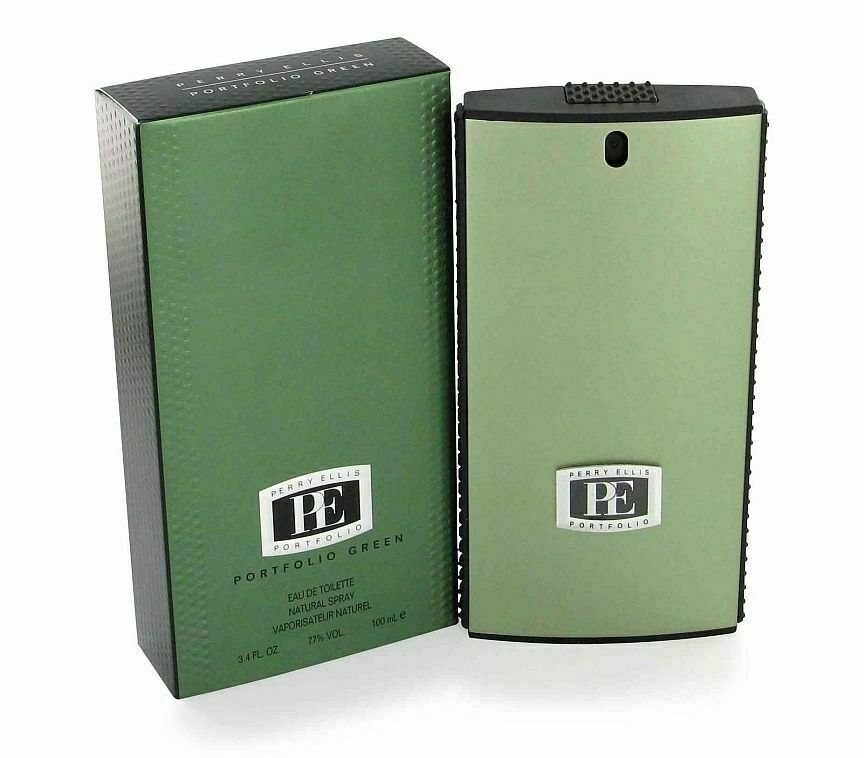 Primary image for Portfolio Green By Perry Ellis Men 3.4 oz Eau De Toilette Spray