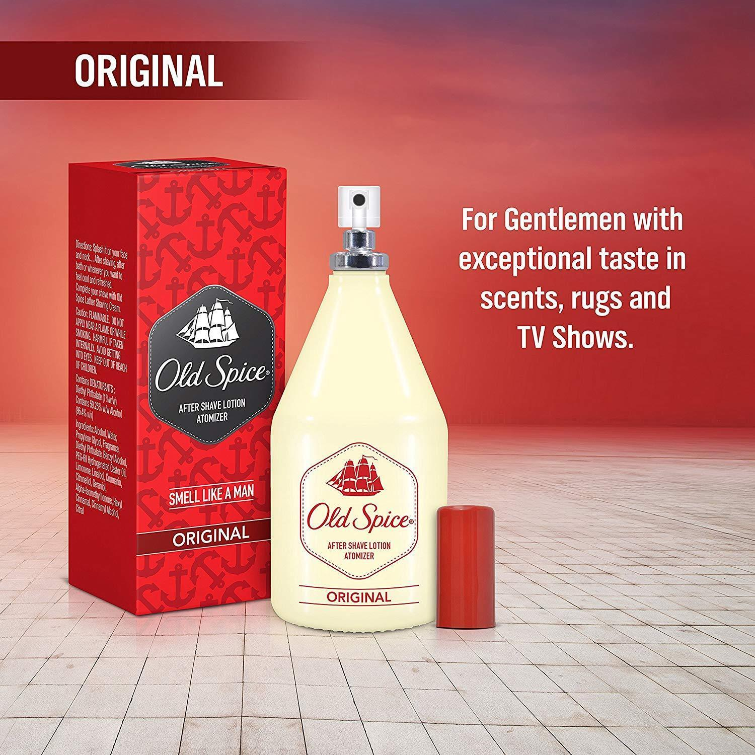 Health & Beauty Original 50 Ml For Men-aftershave Free Shipping Old Spice After Shave Lotion